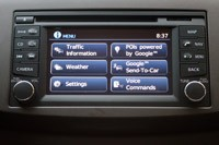 2013 Nissan Sentra infotainment system
