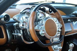 2013 Pagani Huayra steering wheel