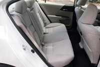 2014 Honda Accord Plug-In Hybrid rear seats