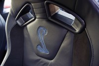2013 Ford Shelby GT500 front seats