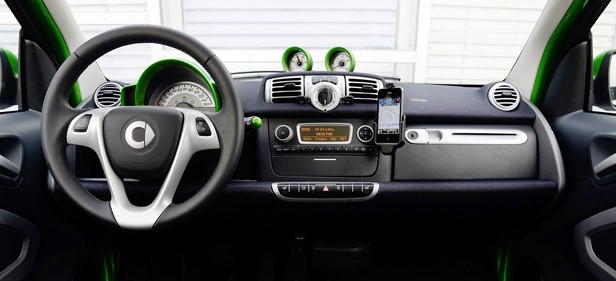 2013 Smart Fortwo Electric Drive interior