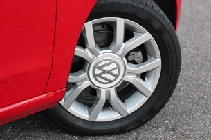 2012 Volkswagen Up! wheel