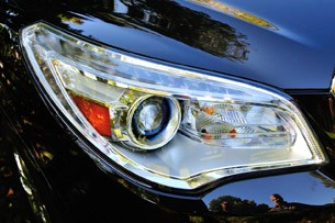 2013 Buick Enclave headlight