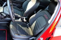2013 Chevrolet Sonic RS front seats