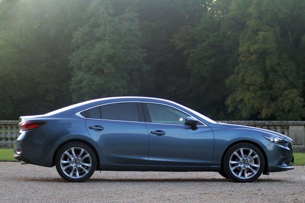 Perfect 2014 Mazda6 Side View