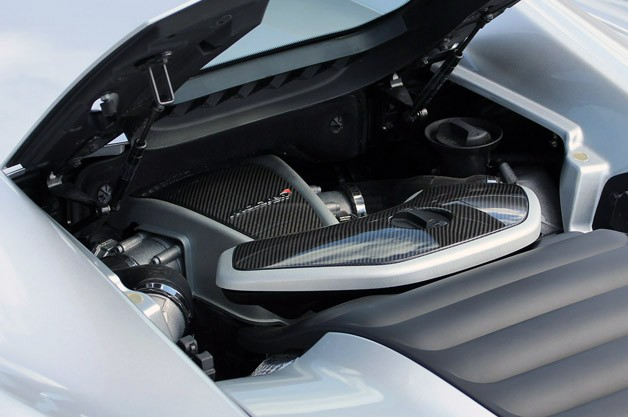 2013 McLaren MP4-12C Spider engine