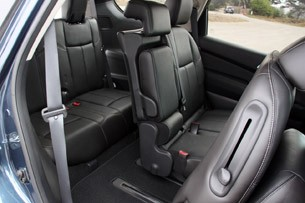 2013 Nissan Pathfinder third row