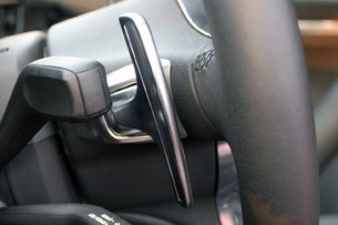 2013 Porsche 911 Carrera S paddle shifter
