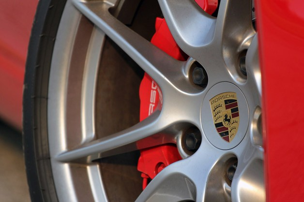 2013 Porsche 911 Carrera S wheel detail