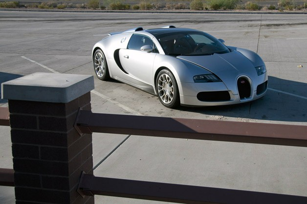 Bugatti Veyron 16.4 Grand Sport front 3/4 view