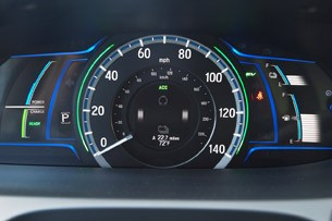 2014 Honda Accord Plug-In Hybrid gauges