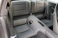 2013 Porsche 911 Carrera S rear seats