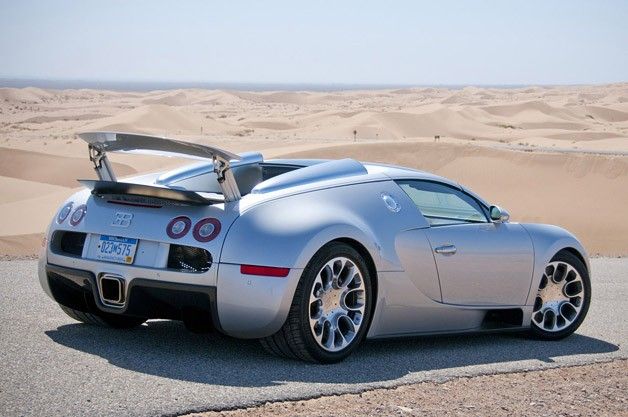 Bugatti Veyron 16.4 Grand Sport rear 3/4 view