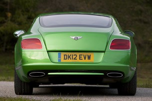2013 Bentley Continental GT Speed rear view