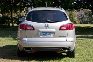 2013 Buick Enclave rear view
