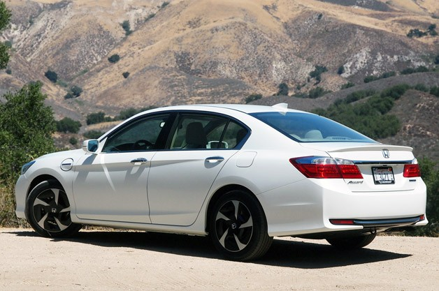 2014 Honda Accord Plug-In Hybrid rear 3/4 view