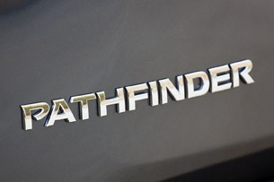 2013 Nissan Pathfinder badge