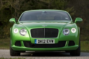 2013 Bentley Continental GT Speed front view