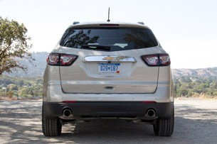 2013 Chevrolet Traverse rear view