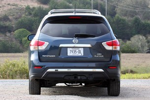 2013 Nissan Pathfinder rear view