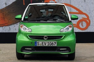 2013 Smart Fortwo Electric Drive front view