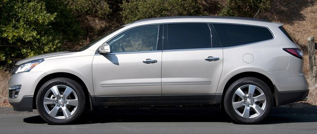 2013 Chevrolet Traverse side view