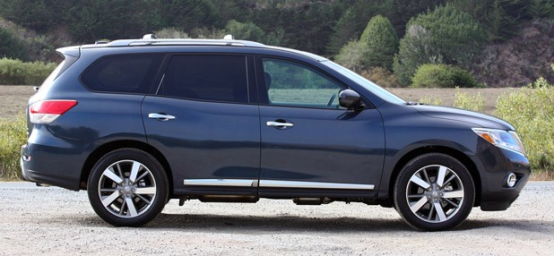 2013 Nissan Pathfinder side view