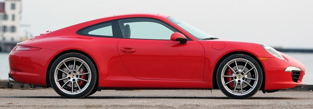 2013 Porsche 911 Carrera S side view