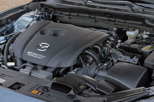 2014 Mazda6 engine