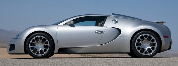 Bugatti Veyron 16.4 Grand Sport side view