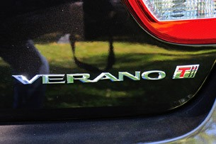 2013 Buick Verano Turbo badge