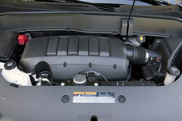2013 Chevrolet Traverse engine