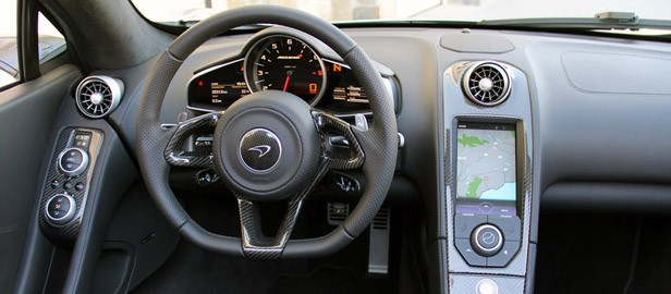 2013 McLaren MP4-12C Spider interior