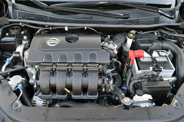 2013 Nissan Sentra engine