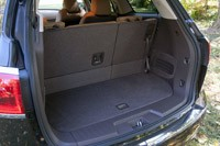 2013 Buick Enclave rear cargo area