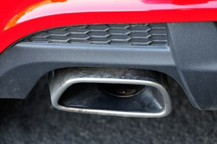 2013 Chevrolet Sonic RS exhaust tip