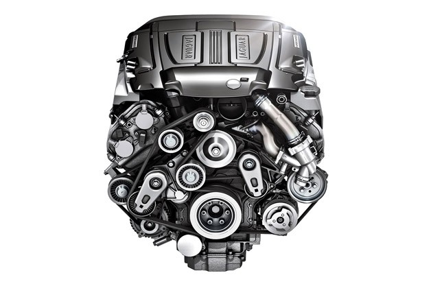 2013 Jaguar XJ V6 engine