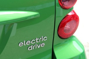 2013 Smart Fortwo Electric Drive badge