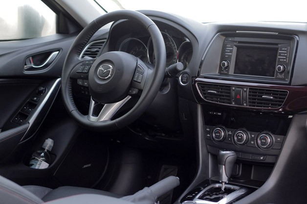 2014 Mazda6 interior
