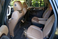 2013 Buick Enclave rear seats