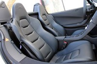 2013 McLaren MP4-12C Spider seats