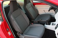 2012 Volkswagen Up! front seats
