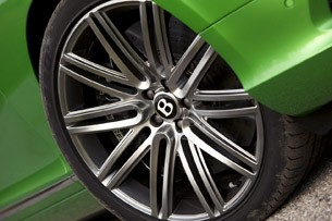 2013 Bentley Continental GT Speed wheel