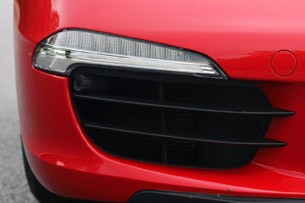 2013 Porsche 911 Carrera S fog light