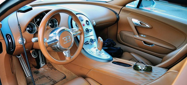 Bugatti Veyron 16.4 Grand Sport interior
