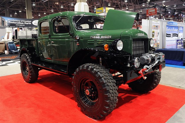 Legacy Power Wagon Conversion