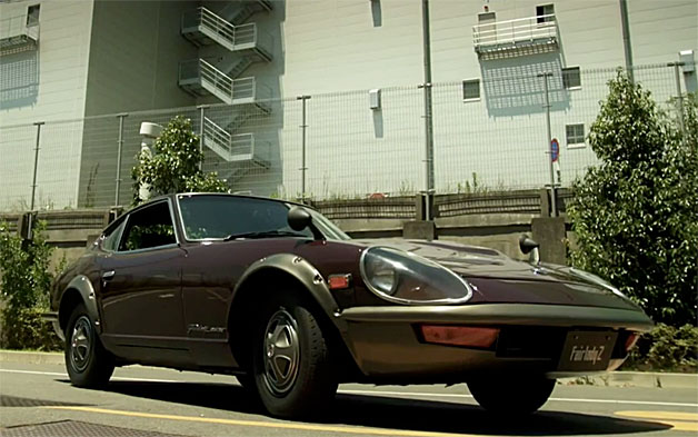 Datsun 240ZG on Jay Leno's Garage - video screencap