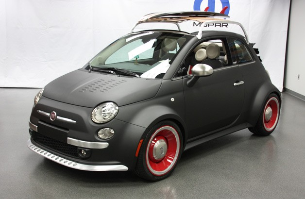 Mopar Fiat 500 Beach Cruiser headed for SEMA 2012
