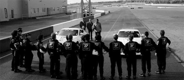 Nissan GT Academy season two screencap