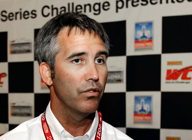 Recently resigned IndyCar boss Randy Bernard